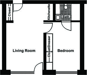 The Prince Floorplan